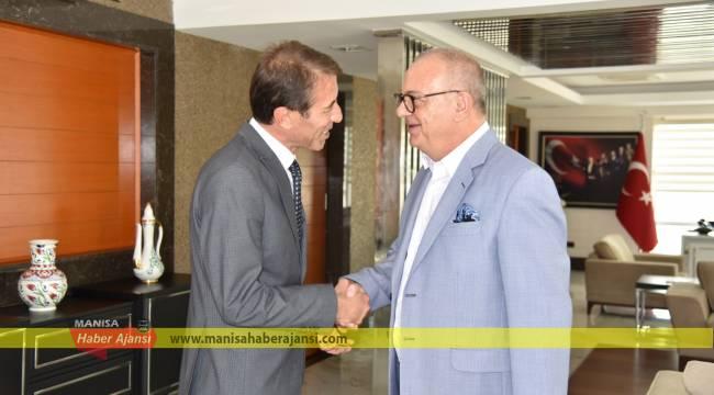 Başkan Ergün, Şener Özten'i Ağırladı