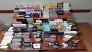 Kütahya'da kaçak parfüm operasyonu