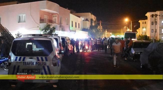 Manisa'da silahlı saldırı: 1 ölü, 1 yaralı