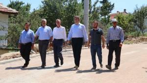 Eroğlu Mahallesi'ne 40 Bin Metrekarelik Kilit Parke Taşı