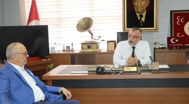 MHP Manisa İl Başkanlığı'nda Bayramlaşma