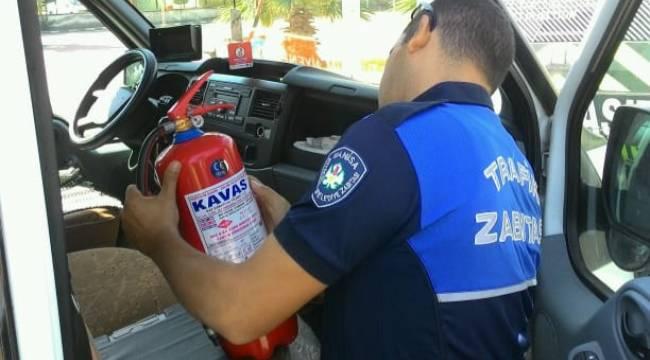 Öğrencilerin Güvenliği İçin Servis Araçları Denetleniyor