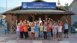 YUNUSEMRE'DEN BARBAROSLU ÖĞRENCİLERE MATEMATİK KURSU
