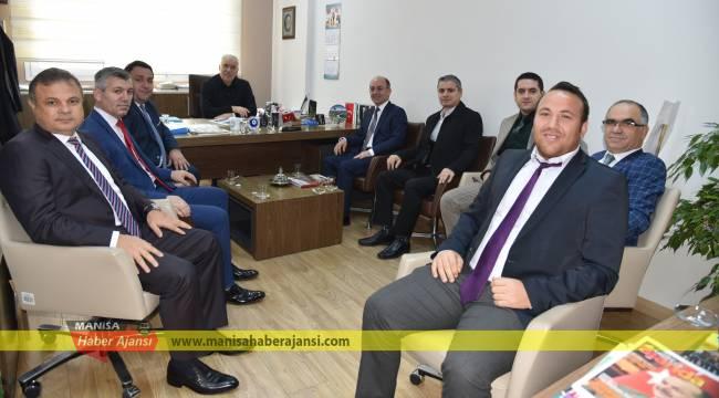 Manisalılar Federasyonu'ndan Büyükşehir'e Ziyaret