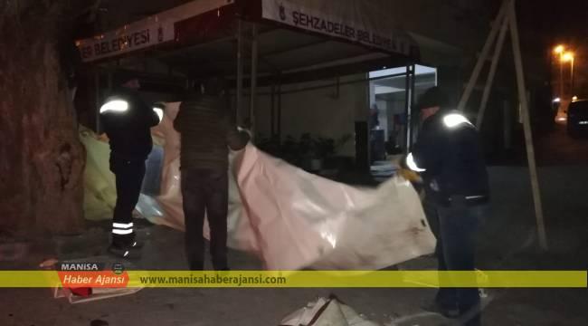 Şehzadeler Deprem Bölgesinde