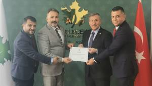 Gelecek Partisi Şehzadeler Kurucu İlçe Başkanlığı'na Özdemir atandı