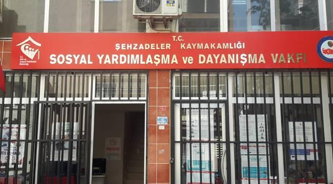 Şehzadeler SYDV online üzerinden hizmet verecek