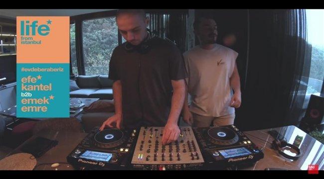 50'den fazla Türk DJ Life From İstanbul çatısı altında buluştu