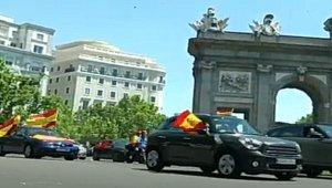 الاحتجاجات الآلية في إسبانيا ، إغلاق الشوارع