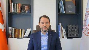 Bakan Albayrak: Türkiye, güçlü bir toparlanma gösteriyor