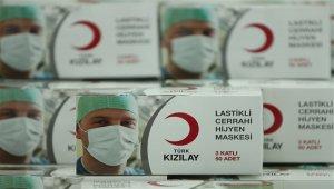 Kızılay maske üretimine yıllar sonra yeniden başladı