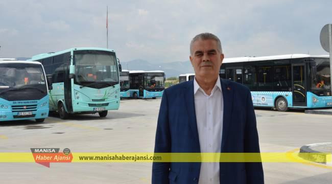 Bakanlık Manisa'da 807 halk otobüsüne destek verecek