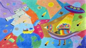 39. Uluslararası Pınar Çocuk Resim Yarışması'nı kazanan minik ressamlar belli oldu