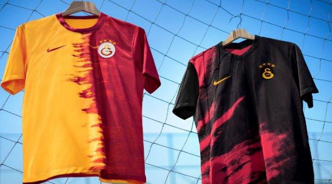 Galatasaray 2020-2021 sezonu formaları tanıtıldı