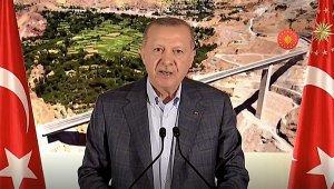 افتتح أعلى جسر في تركيا