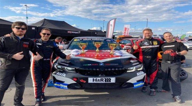 Ünlü otomobil yarışçısı Emir Aşarı'dan Türkiye'ye üçüncülük