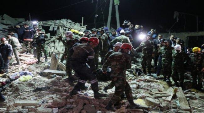 FHN: İndiyədək dağıntılar altından xəsarət almış 52 nəfər və 13 nəfərin cəsədi çıxarılıb