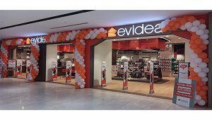 Evidea'nın yeni mağazası, Çamsan Park AVM'de kapılarını açtı.