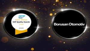 SAP Türkiye kalite ödülleri'nde Borusan Otomotiv'e gümüş ödül