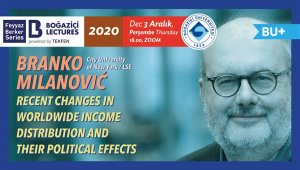 ABD'li ekonomist Branko Milanović, Boğaziçi Lectures'ın konuğu