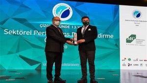 Çizgi Üstü Sektörel Performans'' ödülüne ikinci kez layık görüldü