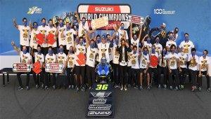Suzuki 20 yıl aradan sonra MotoGP'de şampiyon