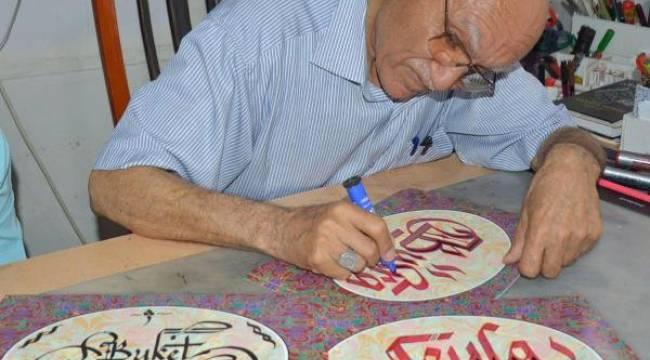 Kaligrafi ustası Rıza Mahmutoğlu hayatını kaybetti