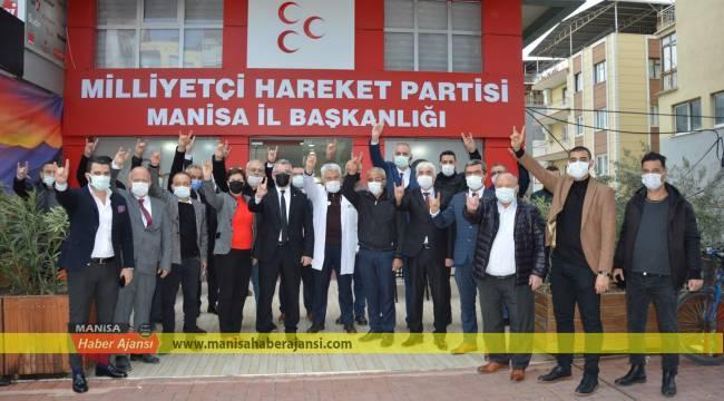 MHP Manisa'dan Kızılay'a destek