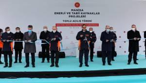Cumhurbaşkanı Erdoğan 4 tesisin açılışını gerçekleştirdi