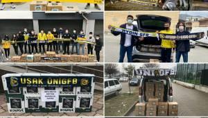 Genç Fenerbahçelilerden yardım kampanyasına destek