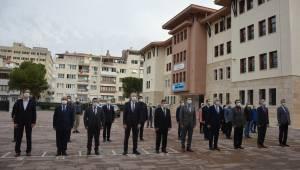 Manisa'da 1047 okulda İstiklal Marşı coşkusu