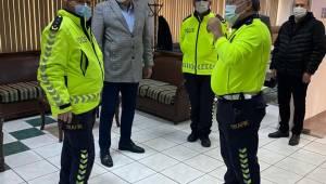 Manisa Şoförler ve Otomobilciler Odası trafik yetkililerini ağırladı