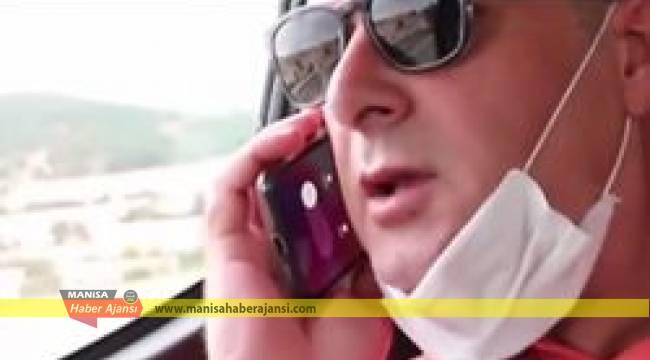 ÖKÜZCÜOĞLUNDAN HAYALİ TELEFON GÖRÜŞMESİ