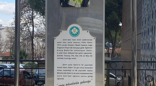 Şehit Kahraman Polis Fethi Sekin Manisa'da Dualarla Anıldı