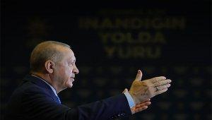 Cumhurbaşkanı Erdoğan, AK Parti 7. Olağan Denizli, Mersin, Uşak il kongrelerine canlı bağlantı yaptı