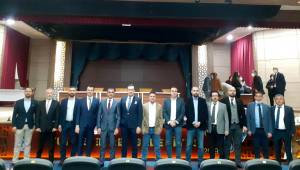 Muradiye OSB'de Osman Kıvırcık başkan seçildi