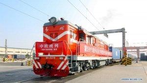 Çin, Avrupa'ya uzanan yeni bir demiryolu hattını daha hizmete açtı