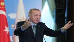 Erdoğan, partisinin İstanbul il kongresine katıldı