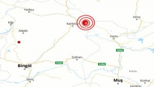 Muş'da deprem
