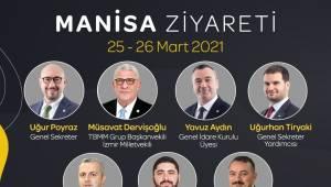 İYİ Parti heyetinden Manisa çıkarması