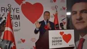 Mustafa Sarıgül Manisa'dan seslendi