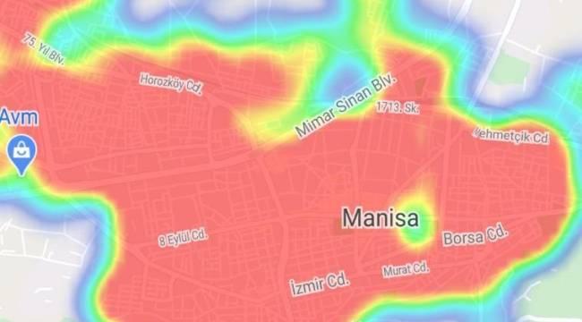 Haftalık vaka sayısı 4 binlere dayandı Manisa'nın her tarafında kırmız alarm