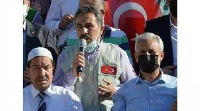 İsrail'in Mescid-i Aksa'ya yönelik saldırıları Manisa ve Aydın'da protesto edildi
