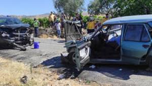 Manisa'da kaza: Evli çift öldü