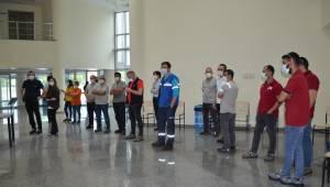Manisa OSB'de işçiler aşılanıyor