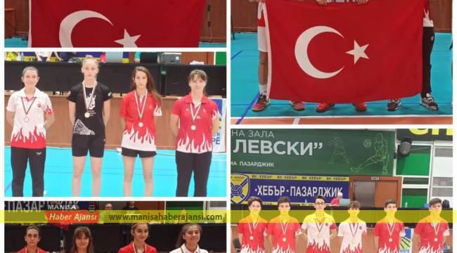 17 Yaş Badminton Türk Milli Takımı Tarih Yazdı