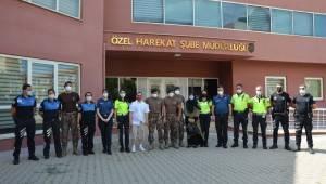 Down sendromlu Tarık'ın polislik hayali gerçek oldu