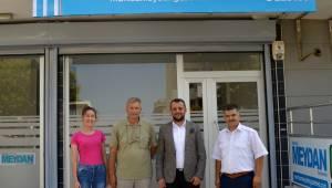 Manisa Gazeteciler Cemiyeti Başkanı Ali Filizkan'dan Manisa Meydan gazetesine ziyaret