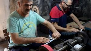 Merdiven altı bilemeciler kaliteli bıçaklara zarar veriyor