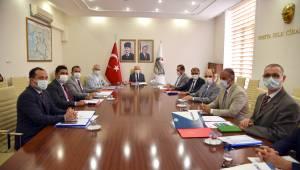 Muradiye OSB ve Soma Devlet Hastanesi Altyapısı İle İlgili Değerlendirme Toplantısı Yapıldı